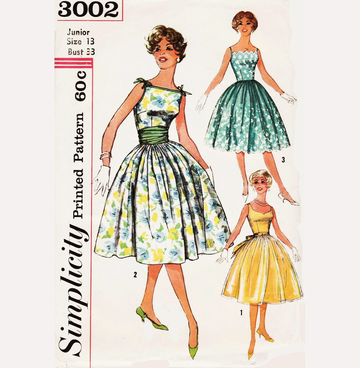 1950s Cocktail Dress Patterns