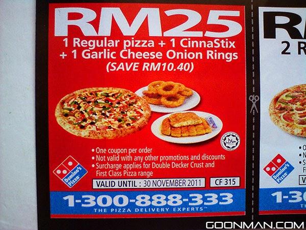 Dominos november coupons