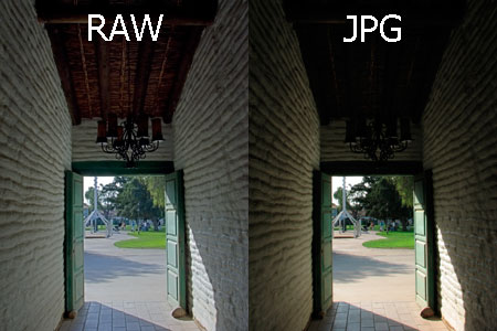 JPEG ou RAW?