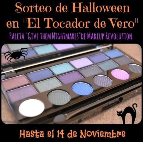 """Sorteo de Halloween en """"el Tocador de Vero"""""""