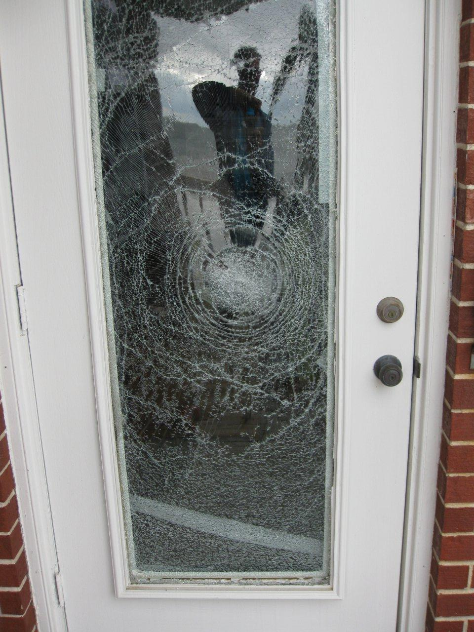 Armor Glass® Blog: Burglar Meets Armor Glass Security Film