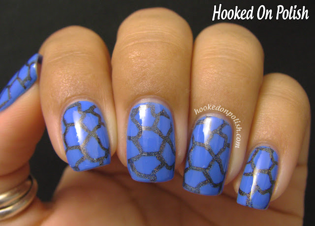 Hooked On Polish: Dirty Waters? (Illamasqua Cameo + Stamping)