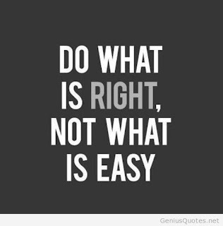 Quote do what is right