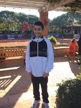 Daniel Rincón, campeón del Torneo Fuencarral-El Pardo