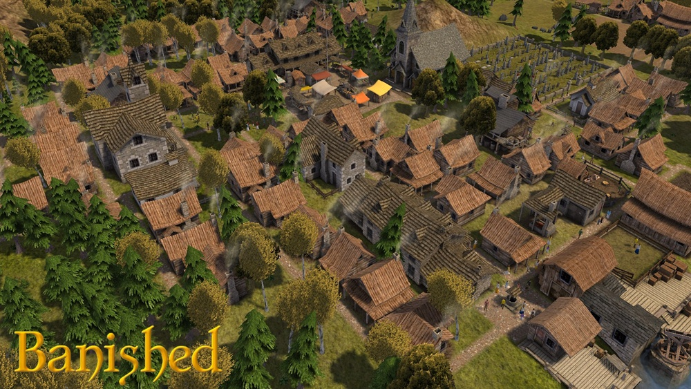 Banished Free Download Poster