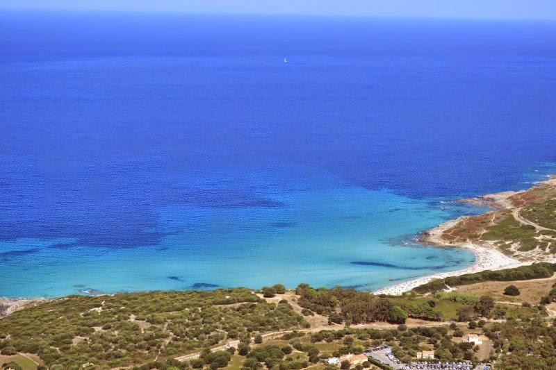 Plage dans le Sud de la Corse