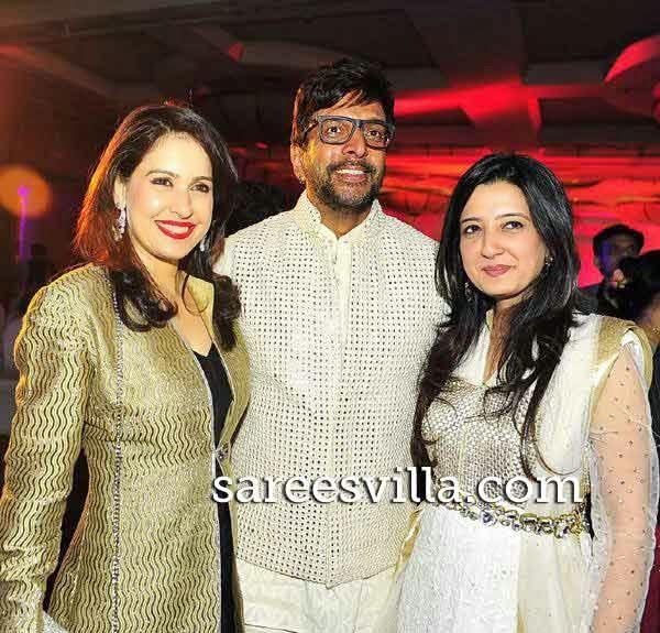 Javed Jaffrey,Amrita Raichand and Amy Billimoria