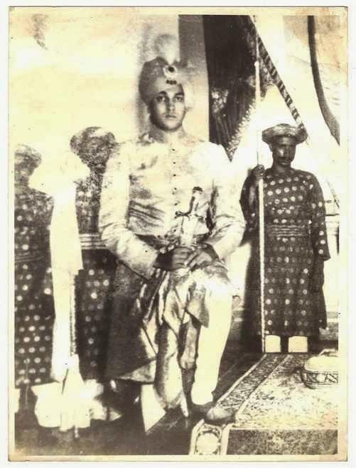 Jagaddipendra Narayan Bhup Bahadur Maharaja of Cooch-Behar Coronation photo - 1936