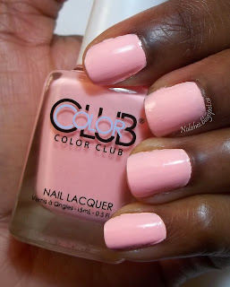 Pastel Coral shade from the Color Club Poptastic Neon Pastel Collection