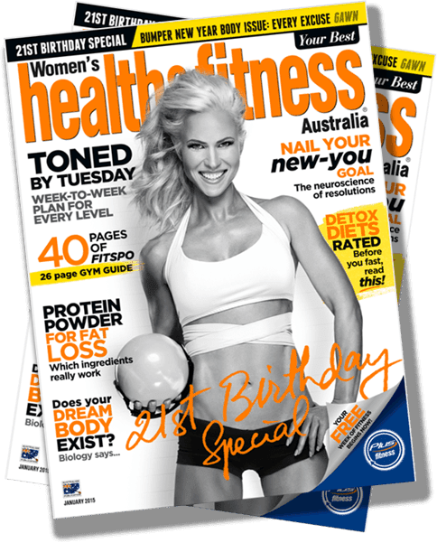 Andrea Albright Featured on Health and Fitness Jan. 2015 Will Show You how to Get a Perfect Body