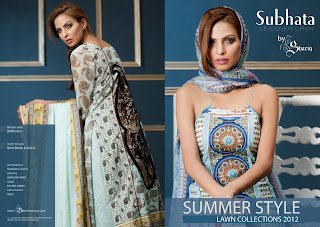 Pakistani Boutiques: Subhata Embroidery lawn Collection 2012