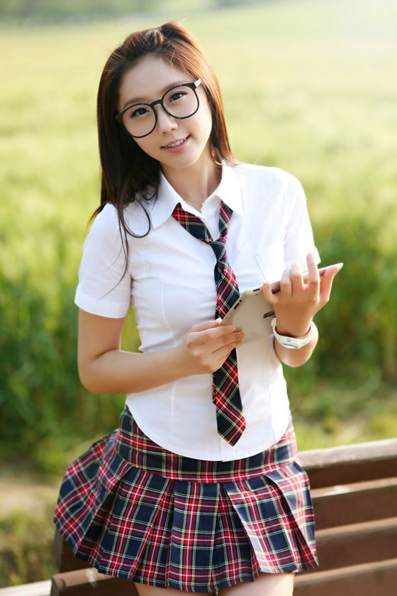 Kim Ha Eum School Girl