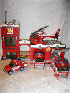 Mega Bloks Fire Station