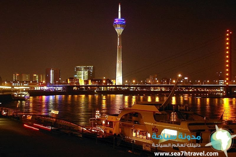 أهم خمس معالم في دوسلدورف Düsseldorf