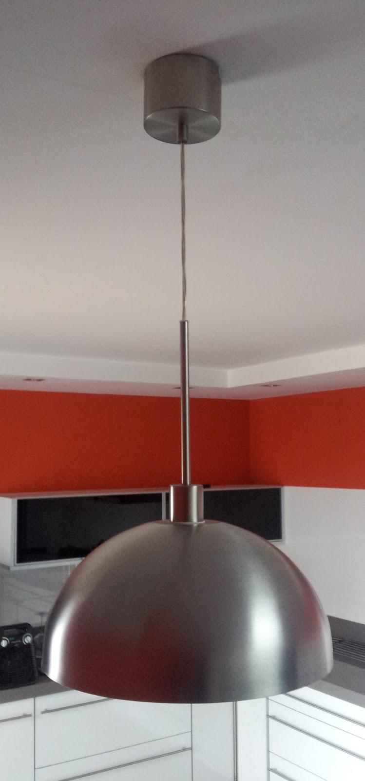 Ikea hack c mo hacer una l mpara de cocina con un bol - Lamparas cocina ikea ...