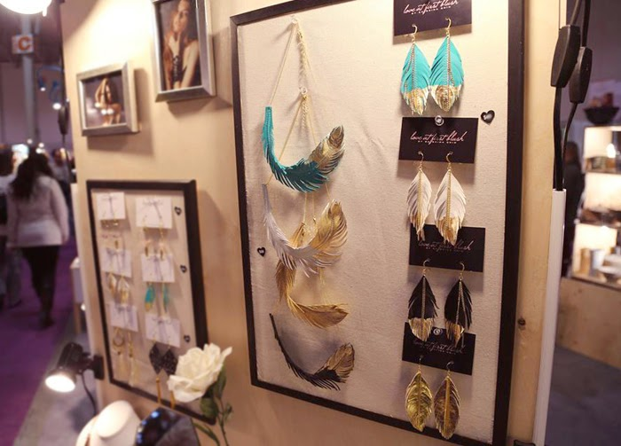one of a kind show rising stars booth display