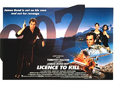 and Licence To Kill , which features Christopher Neame ( Shada