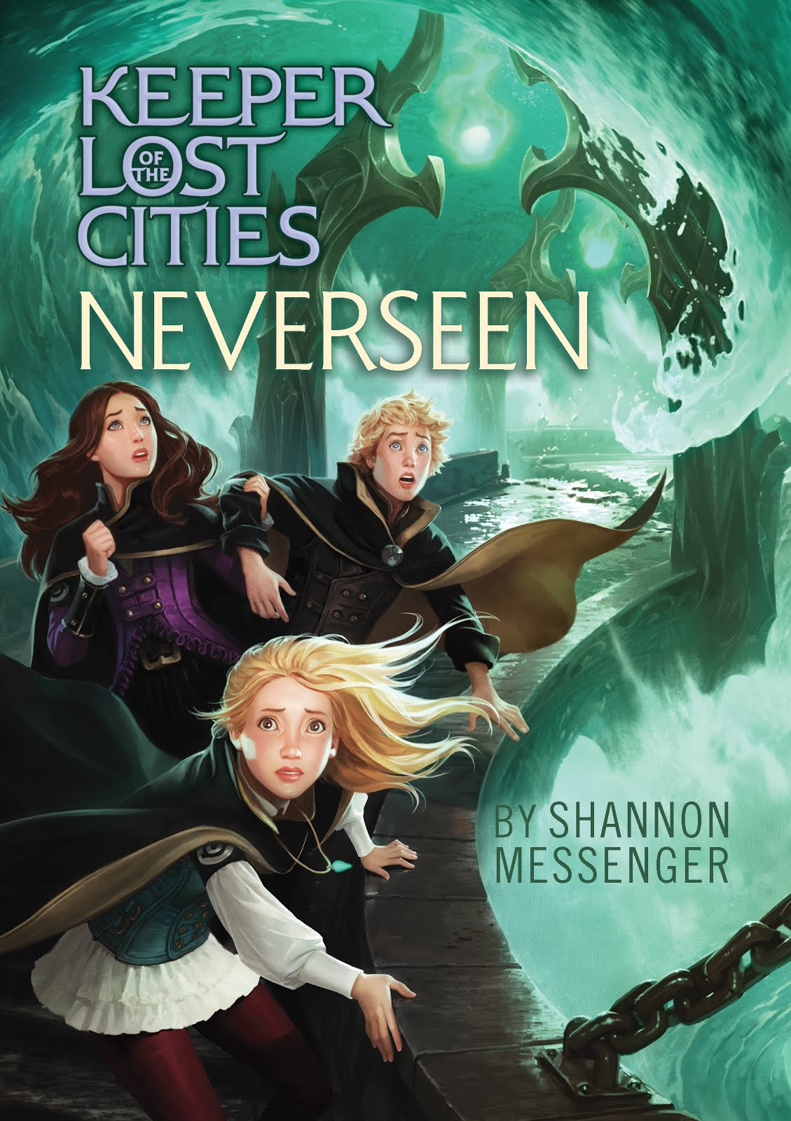NEVERSEEN (Keeper of the Lost Cities #4)