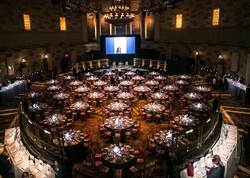 ILLUMINATED CENTERPIECES FOR NON-PROFIT GALA; GOOD SHEPHERD SERVICES ANNUAL BENEFIT AT GOTHAM HALL; AT GOTHAM HALL;