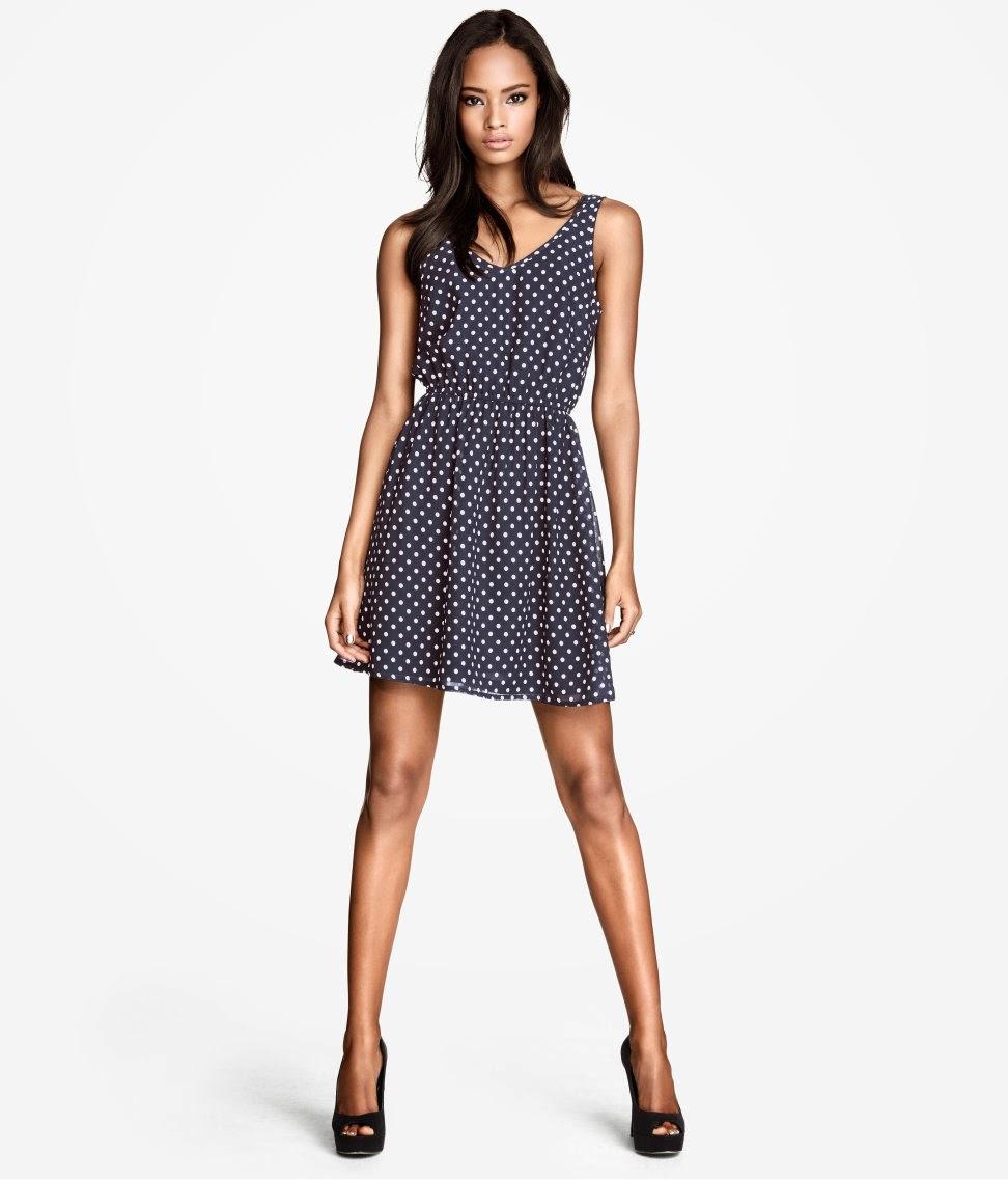 kolsuz+elbiseler H & M 2014 Sommer Kleidung Models