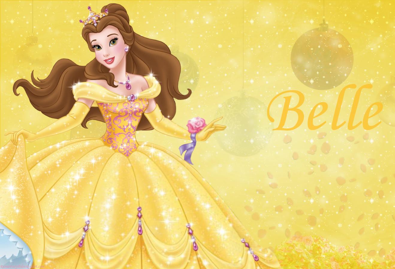 disney princess yellow belle - photo #22