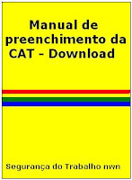 Manual de preenchimento da CAT