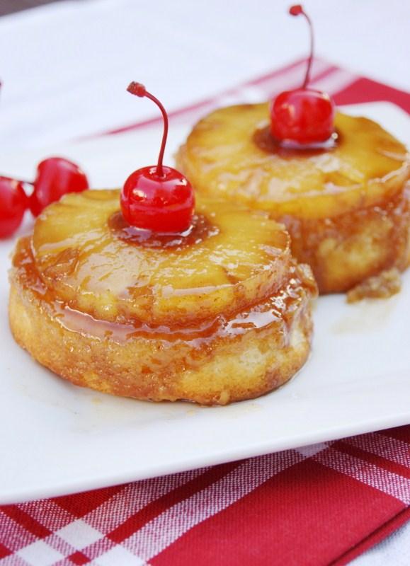 Pineapple Tidbits Upside Down Cake