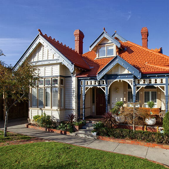 Chamomile Amp Peppermint Home Exteriors Terracotta Roof Tiles