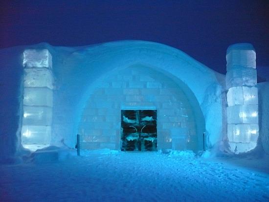 MySansar Ice Hotel In Sweden City