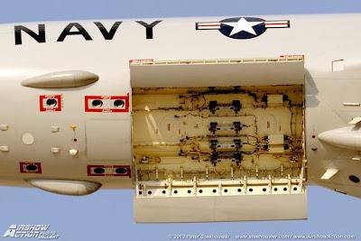 Bahía de bombas del Boeing P-8 Poseidon