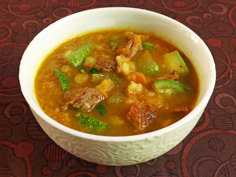 Cooking Weekends: Beef and Barley Soup