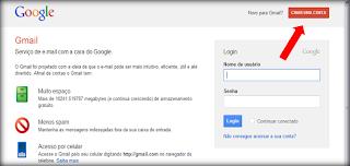 gmail, google, conta, criar, dicas