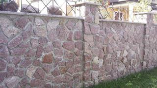 Каменный забор. Фото 1