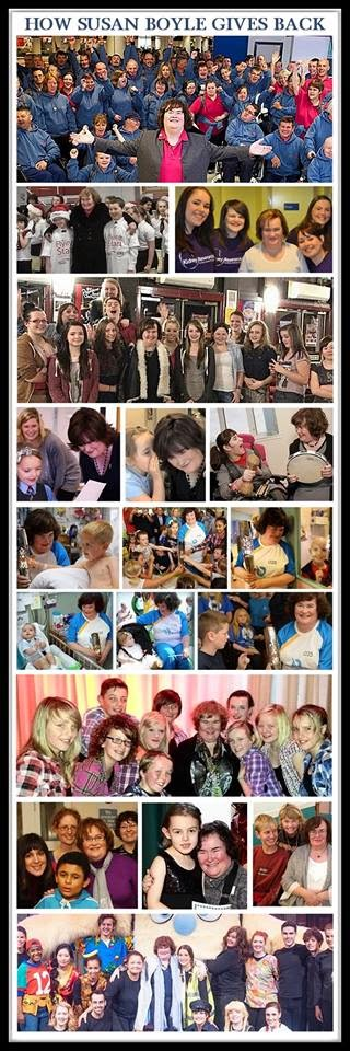 Susan Boyle Gives Back