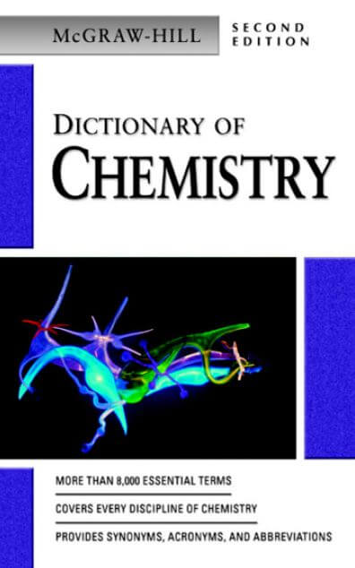 cuốn sách Dictionary of chemistry