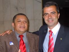 JOSE ANTONIO E O DEPUTADO FEDERAL ANTONIO BULHÕES DO -PRB .SP