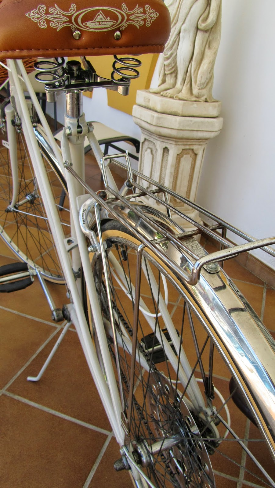 bicicleta antigua bh gacela customizada y restaurada