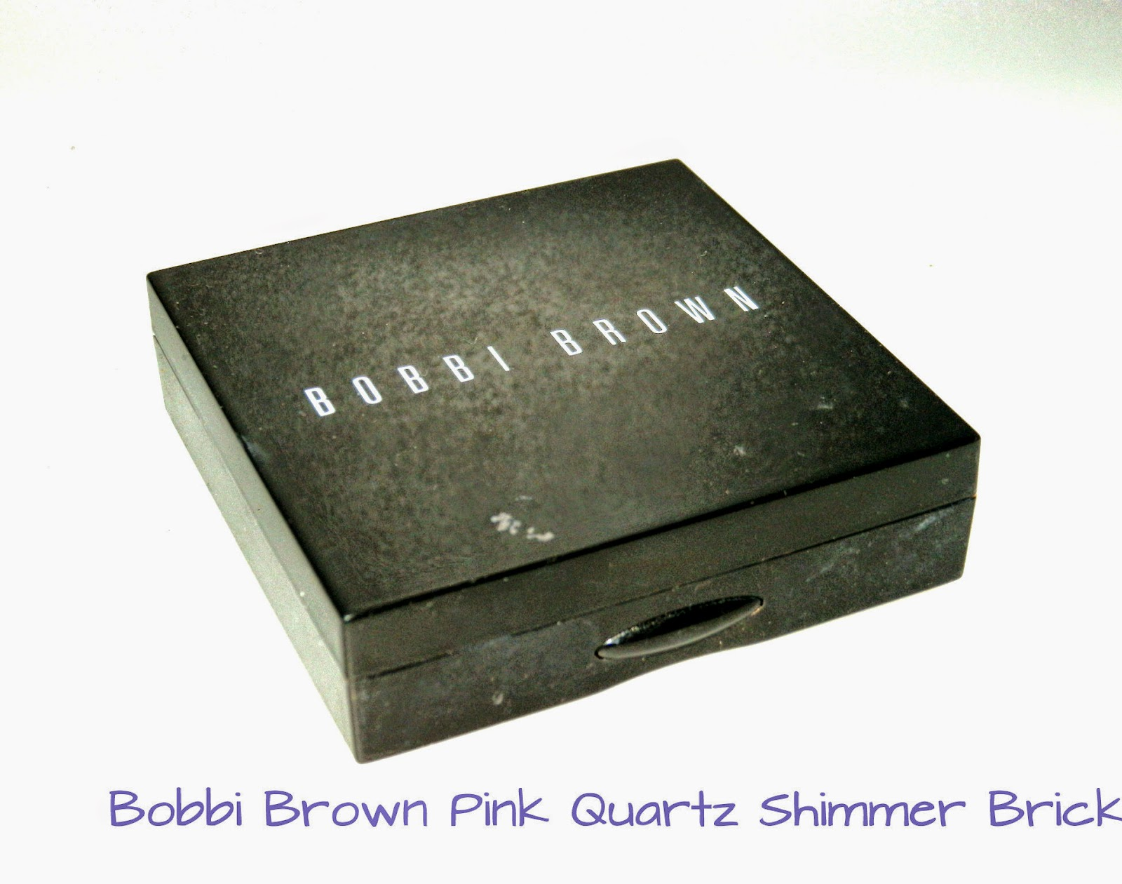Bobbi Brown Pink Quartz Shimmer Brick Swatches
