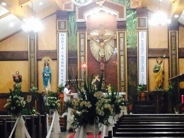 MARY THE QUEEN PARISH CHURCH, Meralco Village, Taytay, Rizal, Philippines