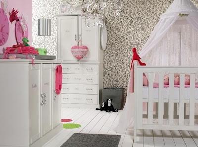 foto habitación bebé mujer