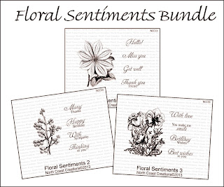 North Coast Creations Floral Sentiments Bundle