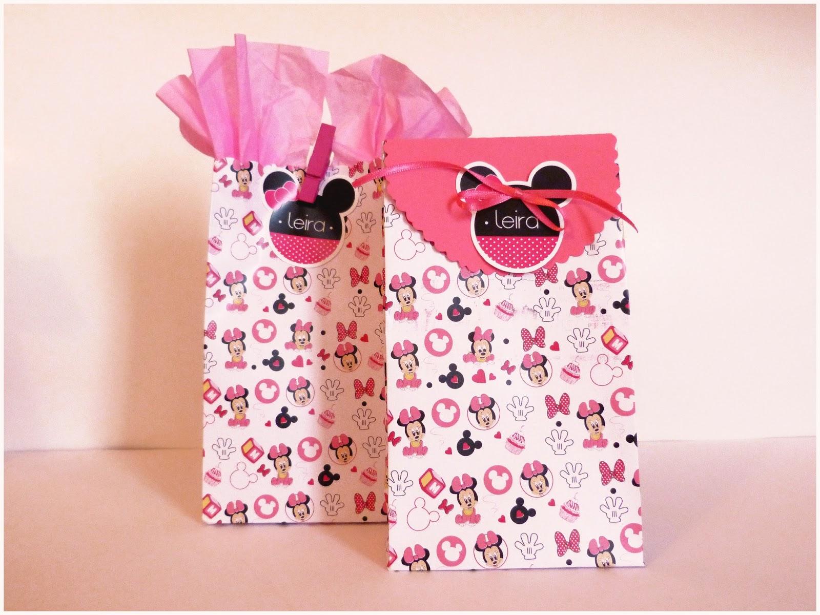 Bolsas para cumpleaños de Minnie - Imagui