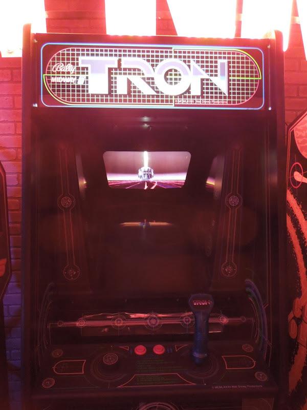 Tron arcade game prop