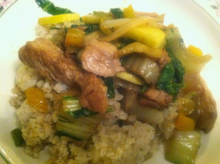 Pork and Bok Choy Stir-Fry. Cooking Chat recipe