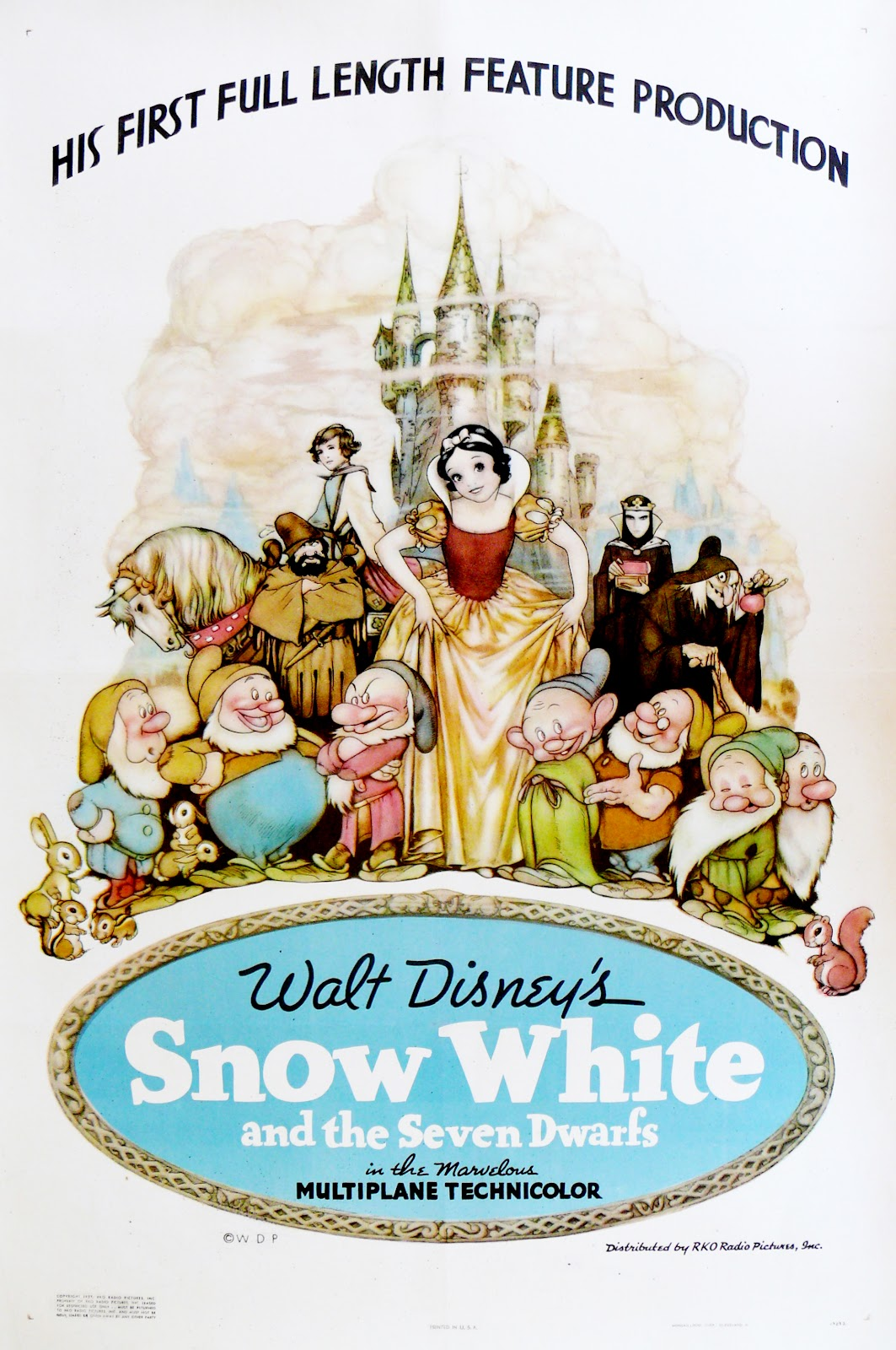 snow white and the seven dwarfs 1937 movie