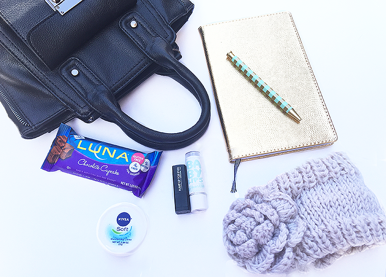 What's in my Bag Holiday Shopping Edition