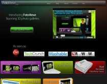 Crear galerías de fotos en 3d online FotoViewr