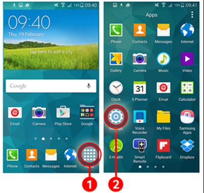 5 Cara mengunci Samsung Galaxy S5