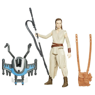 TOYS : JUGUETES - STAR WARS 7 Rey (Starkiller Base) : Snow Mission | Figura - Muñeco El Despertar de la Fuerza - The Force Awakens Película Disney 2015 | Hasbro B3965 | A partir de 4 años comprar en Amazon España & buy Amazon USA