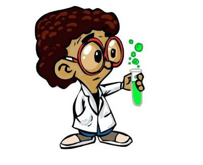 ilustrasi praktikan bidang kimia
